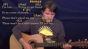 I Don T Know My Name Strumming Pattern