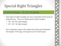 trigonometry right triangle and trigonometric functions ppt  7