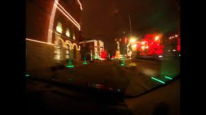 Budweiser Christmas Lights St Louis Drive And Budweiser Christmas Lights Youtube