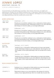 Resume Template Download Free Word Basic Cv Templates For Word Land The Job With Our Free
