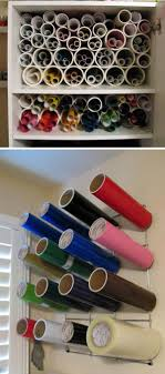 office supply storage ideas. contemporary storage cut pvc pipe to hold vinyl and paper rolls this is a cheap easy with office supply storage ideas o