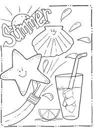 Coloring Pages Summer Fun Kids Coloring Pages Summer Summer Fun