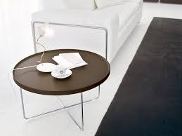 tray round coffee table simple minimalist round tray coffee table design interior for living room decor