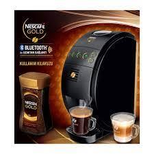 Nescafe Gold Bluetooth Kahve Makinesi Siyah: Amazon.com.tr