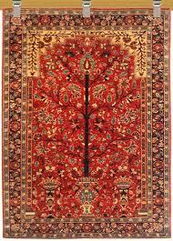 santa fe rugs tree of life rug jackalope