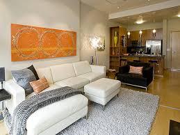 Good Portland Pearl District Condo Living Room U0026 Kitchen Contemporary Living Room Idea