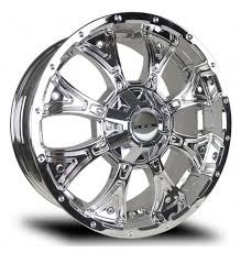 RTX TAURUS Rims - 20 x 9 Chrome Truck Wheels