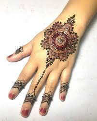 Simple Round Mehndi Design 14 Hariyali Teej Mehndi Designs To Try Latest Hariyali