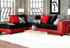 black faux leather couch black leather sectional couch red black sectional sofas intended for latest and black faux leather
