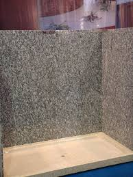 granite shower walls