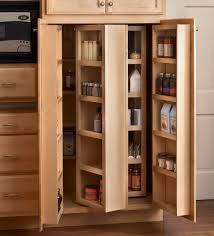 Kitchen Food Pantry Cabinet Contemporary Kitchen With Practical Built In Shelf Free Standing