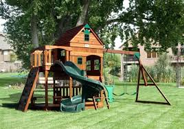 backyard playset plans designs free