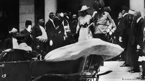 the assassination that started world war i europe  archduke franz ferdinand shortly before his assassination