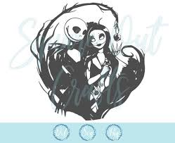 You are welcome to sell your finished items however you like, but please do not copy and/or redistribute this product including. Nightmare Before Christmas Svg Files For Silhouette Cameo Or Etsy