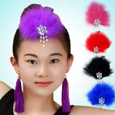get quotations children latin dance ballet clothes and children s dance headdress diamond with diamond feather headdress headdress dance