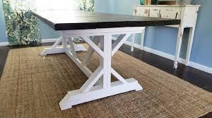 farmhouse table base