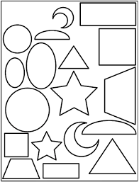 Printable Shapes Coloring Pages | Coloring Me
