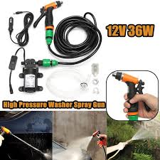 diy pressure washer. Modren Pressure New High Qaulity Universal DC 12V 36W DIY Portable Car Cleaning Kit Pressure  Washer Pump Intended Diy E