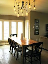 bathroom lovely dining table lighting ideas