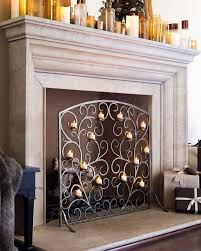 make this decorative tea light hearth fireplace screen the focal point of the room even during warmer seasons and enjoy flickering flames all year