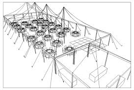 Wedding Reception Table Layout Cad Tent Layout For Wedding Reception With 250 Guests In Anacortes