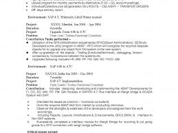 Crm Resume Samples New Outstanding Sap Crm Technical Resume Samples