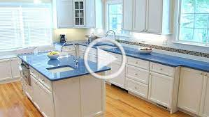 Video Bahama Blog All Granite And Marble Corp Blue Countertops White Kitchen Kitchen Countertop Choices