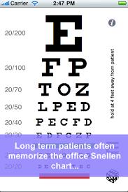 Random Eye Chart App Price Drops
