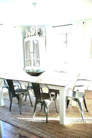 dining room table without rug rug under dining table rug placement under dining room table rug
