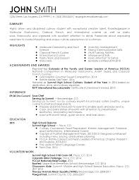 professional sous chef templates to showcase your talent resume templates sous chef