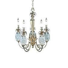 waterford crystal pineapple chandelier pineapple hospitality 5 arm chandelier by chandeliers flush mount