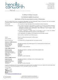 public liability insurance for the astaria ensemble