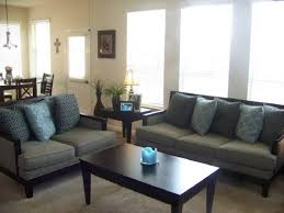 Brown And Blue Living Room Decorating Ideas Modern House
