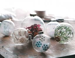 Glass Ball Ornaments Decorated With Tissue Paper (via freshhomeideas)