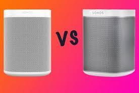 Sonos One Vs Sonos One Sl Vs Sonos Play 1 Differences