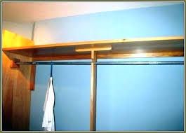 closet pole height wooden closet rod modern decoration wood closet rod support center home design ideas closet pole