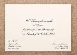 Invitations Formal