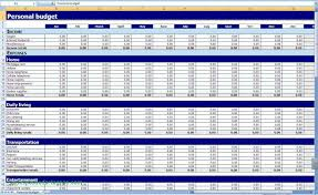 Personal Monthly Budget Spreadsheet Personal Monthly Budget Spreadsheet Template Excel Rental Income