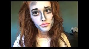 easy corpse bride makeup tutorial