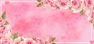 Wedding Photo Background Pink Wedding Gradient Dreamy Pink Banner Background