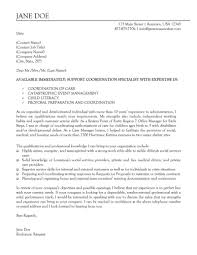 Collection Of Solutions Cover Letter For Disability Case Manager