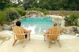 zero entry fiberglass pool small beach ideas kit cost