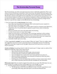 scholarship essay pdf format scholarship personal essay sample