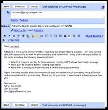 Cover Letter Email Cover Letter Job Application Email Cover Letter