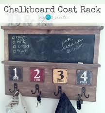 Make Your Own Coat Rack Chalkboard Coat Rack Styled X100 My Love 100 Create 38