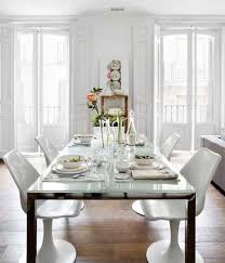 vintage dining room ideas. white dining room design by vintage spain house ideas