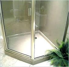 shower pans at shower pan corner shower pan complete tile shower kits a purchase corner