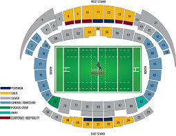 Super Bowl 51 Seating Chart Silver Plus500 Brumbies
