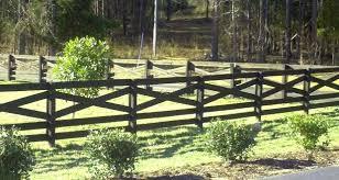 wood farm fence posts