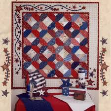 107 best patriotic quilts images on Pinterest | Patriotic quilts ... & Oh Americana Quilt Patriotic QOV idea Adamdwight.com